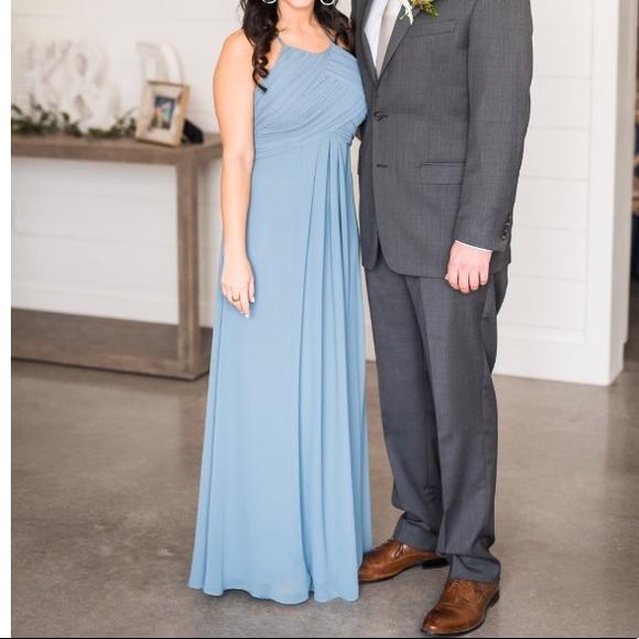 28cea0bcde4 Bill Levkoff Dresses   Skirts -  Levkoff Bridesmaid Dress style 7001 Slate